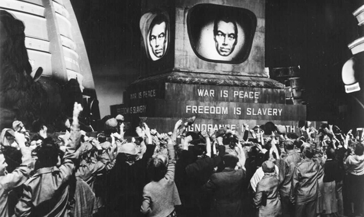 O cinema e as inquietações visionárias de George Orwell