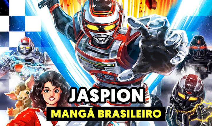 Mangá do Jaspion