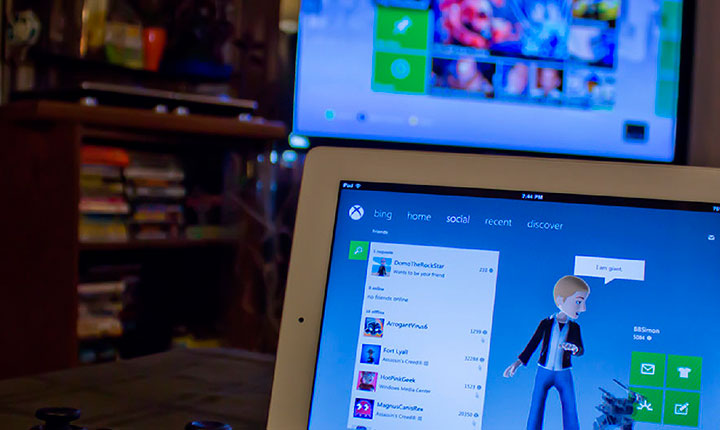 Xbox One SmartGlass e PlayStation para Android