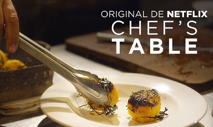Surpreenda-se com Chefs Table
