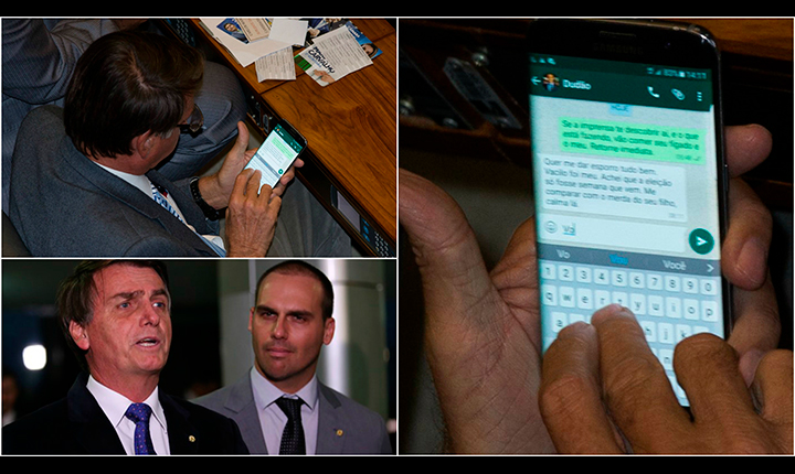Fake News via whatsapp pode tirar Bolsonaro da disputa